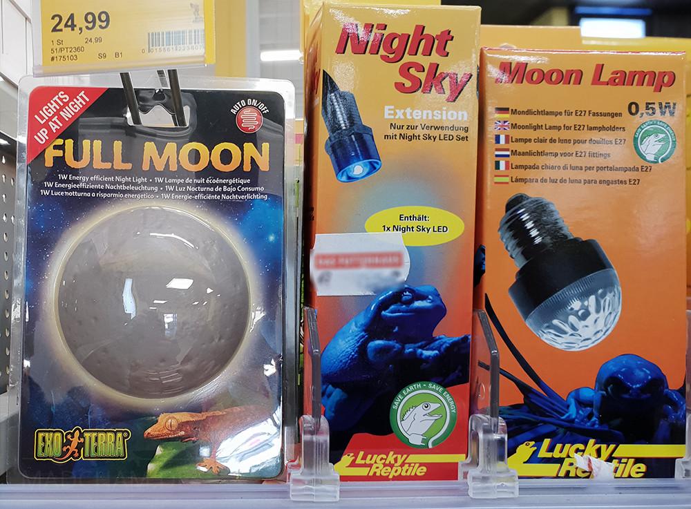 Luna Light Lampen : Terrarium lighting u madcham