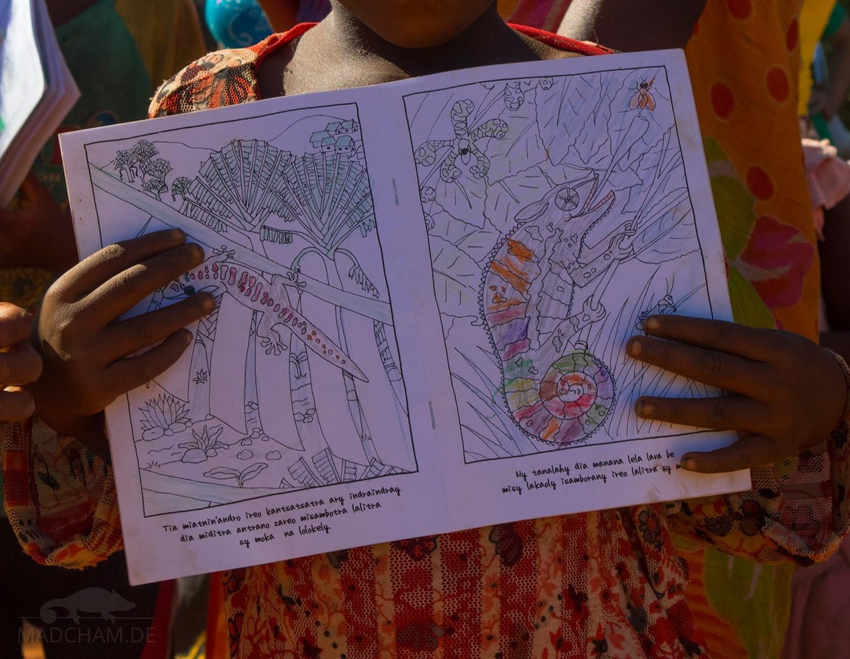Malbücher für Madagaskar